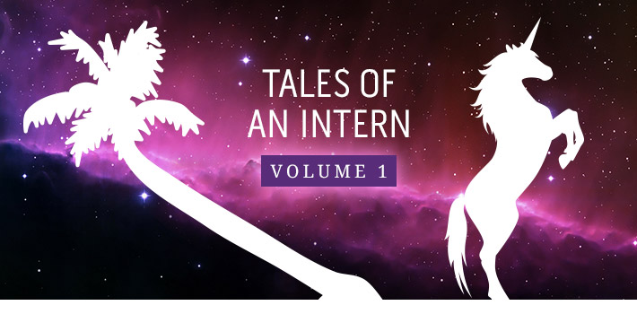 The Palm Tree and the Unicorn: Tales of an Intern, Vol 1
