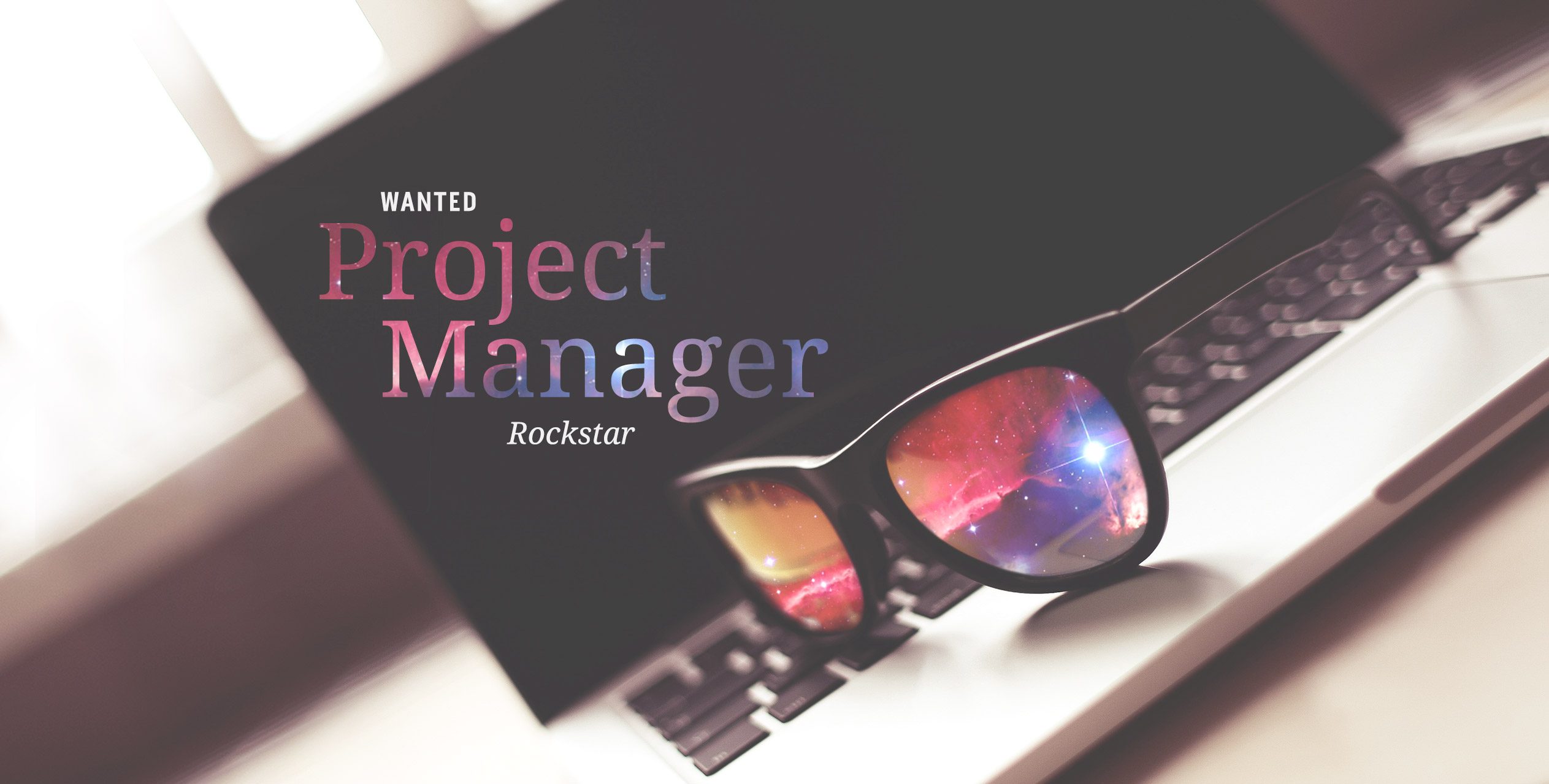 We're Hiring: Rockstar Project Manager